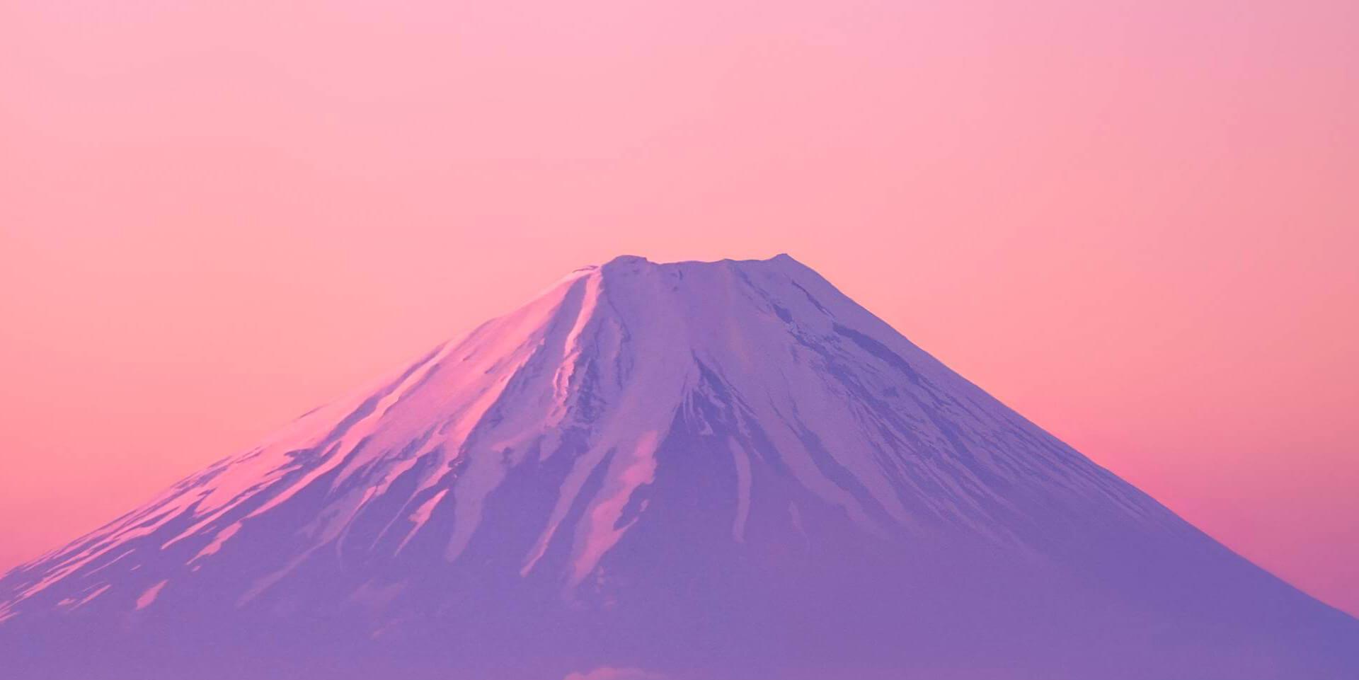 Кавагутико - вид на Фудзи