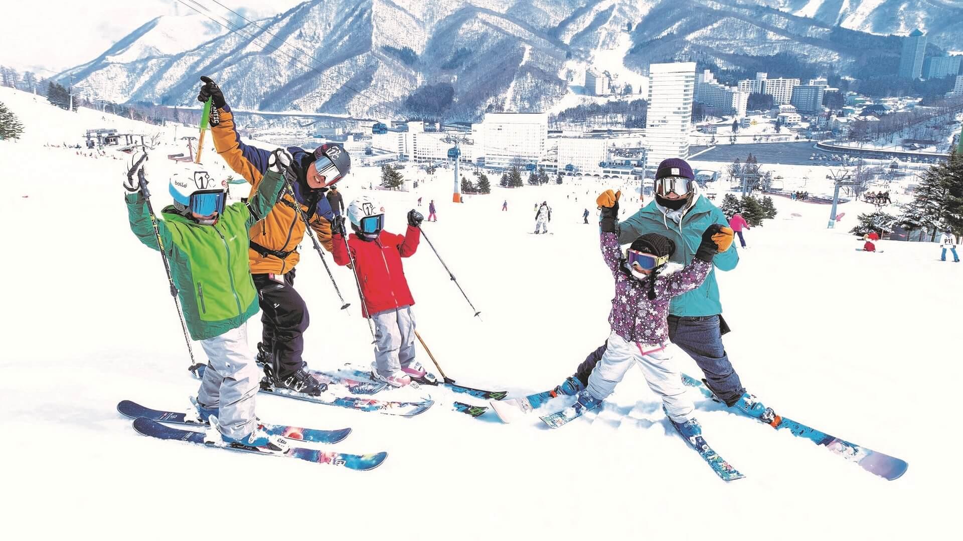 Семейный отдых на горнолыжном курорте