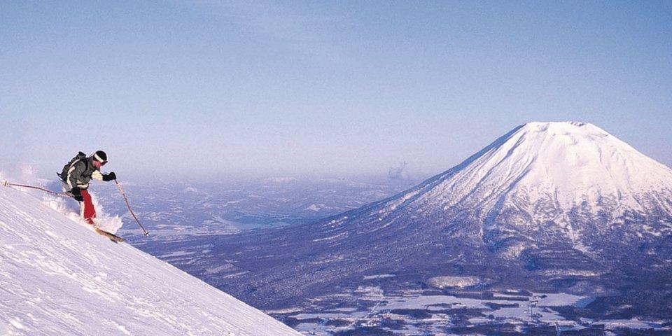Лыжи в Японии.