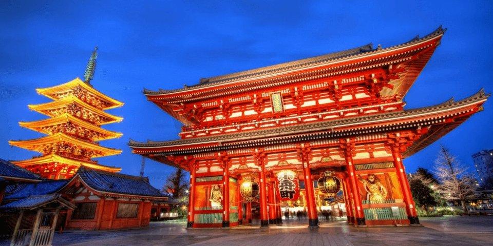 Храм Сэнсодзи.