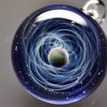 Космическое искусство: галактики и цветы Сатоси Томидзу