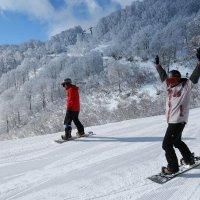 Нагано. Горные лыжи в Японии