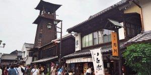 Средневековая башня с часами