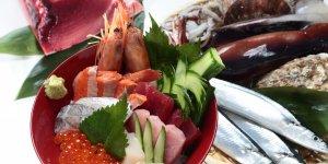 Рыбный рынок Сиогама