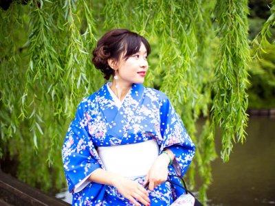 Примерка Кимоно