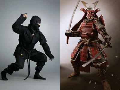 Урок ниндзя и самурая