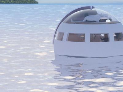 Отель, плывущий к необитаемому острову