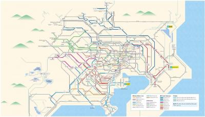 """Новый проездной """"Greater Tokyo Pass"""""""