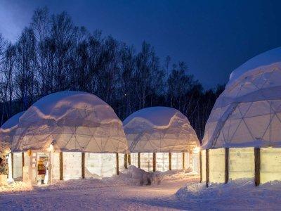 Невероятный ледовый отель на Хоккайдо
