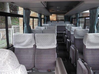 Салон малого автобуса (19-25 мест) в Японии