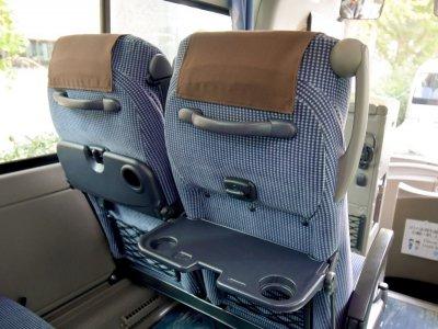 Кресла среднего автобуса (27-28 мест) в Японии