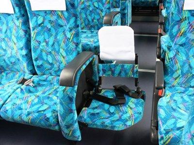 Откидные кресла. Большой автобус (45-60 мест)