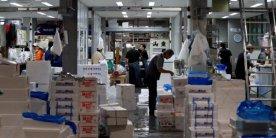 Рыбный рынок Тоёсу: день открытия