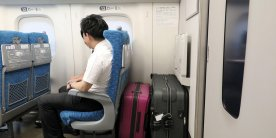 Новые правила перевозки багажа в синкансэнах