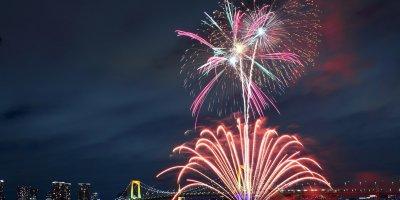 Новогодняя ночь в Токио