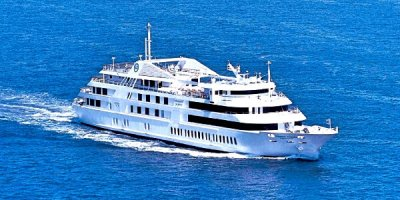 Романтический ужин на корабле Симфония в Токийском заливе