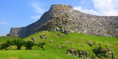 Руины замка Накидзин