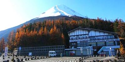 Пятая станция горы Фудзи (маршрут Кавагутико)