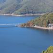 Фудзи-Кавагутико. Вид на озеро Кавагути с подъемника горы Кати-Кати
