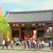 Токио. Главные ворота храма Сенсодзи