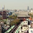 Токио. Район Асакуса, торговая улочка, ведущая к храму Сенсодзи
