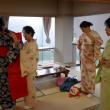 Цукуба. Урок надевания кимоно (кицукэ)