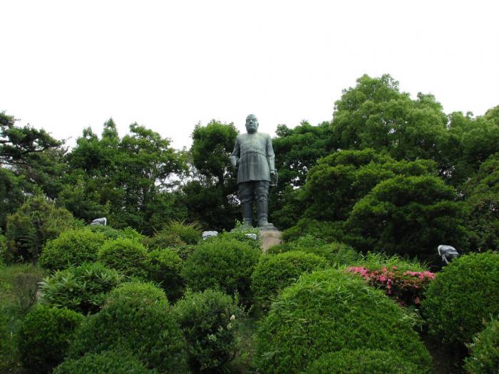 Памятник Сайго Такамори в Кагосиме