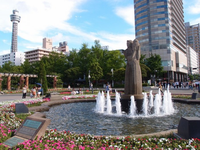 Парк Ямасита в Йокогаме
