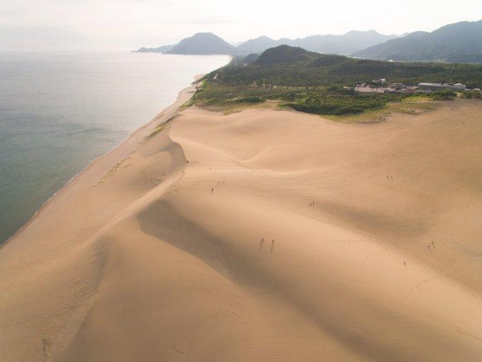 Песчаные дюны Тоттори
